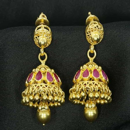 Rang Gold Earrings