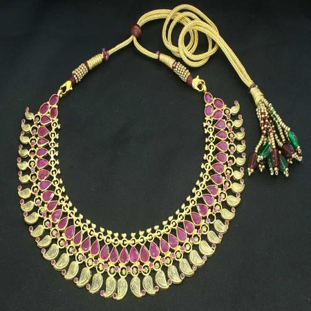 Rang Gold Necklace