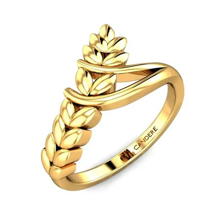 Gold Rings Yellow Gold 22kt - Jayden Gold Ring - Candere By Kalyan Jewellers