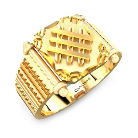 Gold Rings Yellow Gold 22kt - Carter Gold Ring  - Candere By Kalyan Jewellers