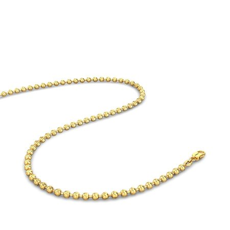 Gold Chains Yellow Gold 18kt - Jalina Gold Chain - Candere By Kalyan Jewellers