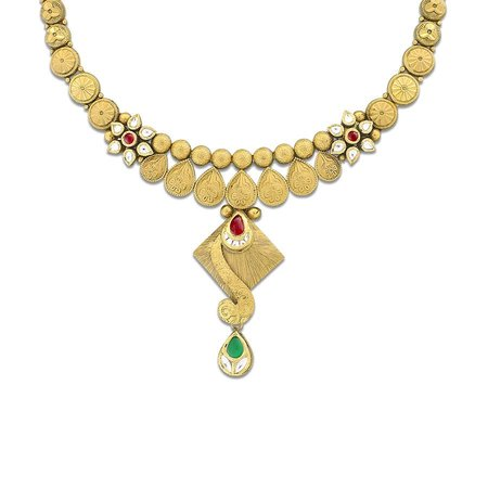 Mudhra Gold Necklace