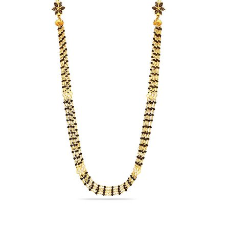 Gold Mangalsutra With Chain