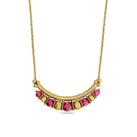 Gold Necklaces Yellow Gold 22kt - Madira Nimah Gold Necklace - Candere By Kalyan Jewellers