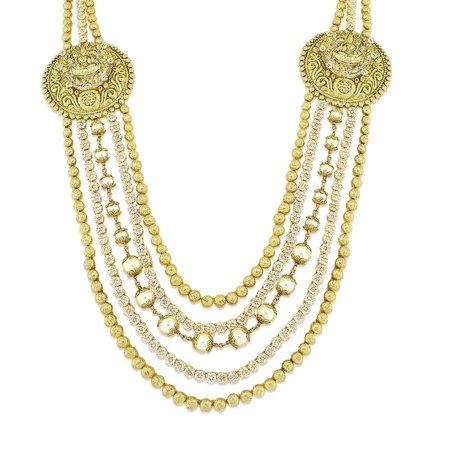 Vedha Gold Necklace